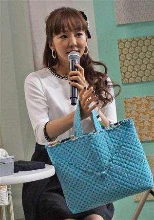 神田うの感動!娘への手作りバッグ披露「すごい喜んでうれしかった」
