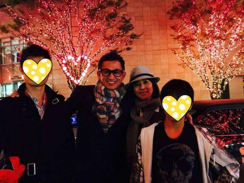 キングカズこと三浦知良の妻・三浦りさ子、家族4ショット写真公開