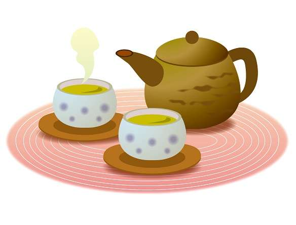 自宅に業者が来たら、お茶出す?