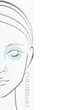 濃い顔を薄く見せるメーク術~顔型別・似合うメイク(10)~ | 30代からの美人顔メーク&似合うファッション日記 | COLORISMO