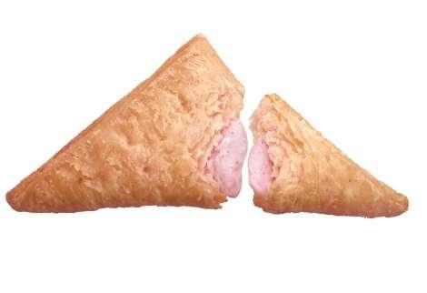 マクドナルド人気の「三角チョコパイ」に苺フレーバー ひと足早い春の味わい
