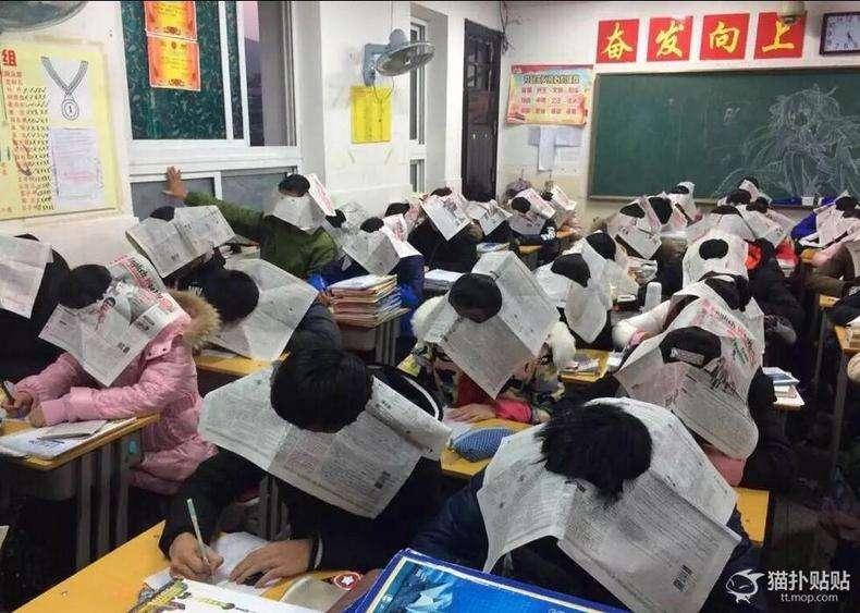 中国の「カンニング防止」アイテムがシュールだと話題に