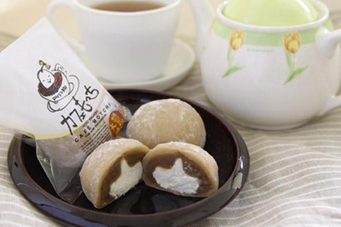 カフェもっち(コーヒー味)10個入り - 菓子匠 壽康庵(じゅこうあん)