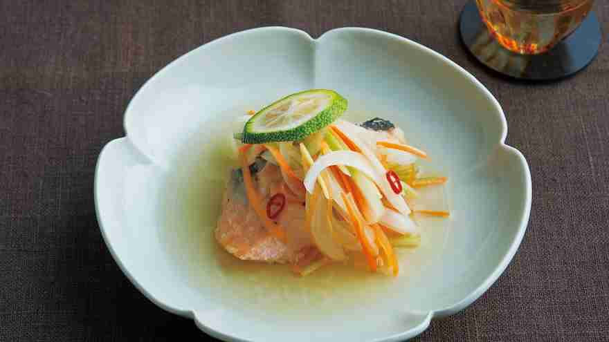 さけの南蛮漬けレシピ 講師は栗原 はるみさん|使える料理レシピ集みんなのきょうの料理 NHKエデュケーショナル