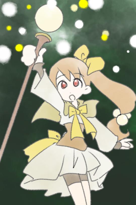 魔女っ子(魔法少女)シリーズ好きだった方ー☆