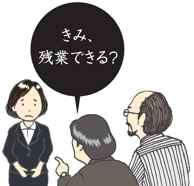 「きみ、残業できる?」 面接で質問、企業の3割超え:朝日新聞デジタル