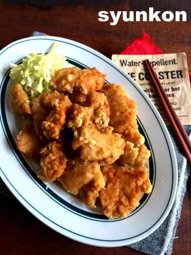 【簡単!!】鶏むね肉で*やわらかい!中華料理屋さんのからあげ|山本ゆりオフィシャルブログ「含み笑いのカフェごはん『syunkon』」Powered by Ameba