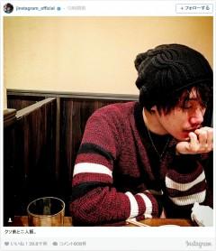赤西仁、弟の写真を公開!「そっくり」と大反響
