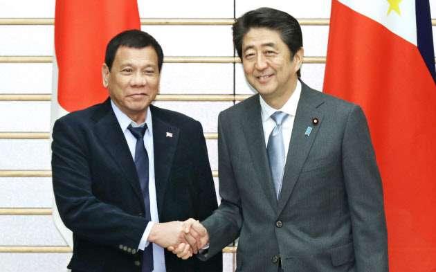 フィリピン支援に5年で1兆円 首相表明へ、地下鉄整備など  :日本経済新聞