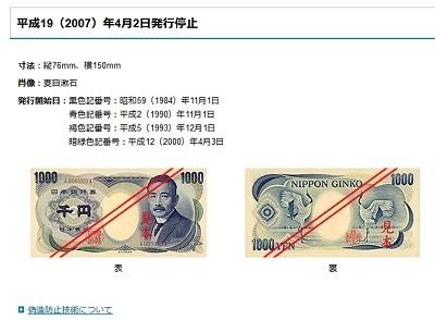 「野口さんの髪の毛が薄い」――夏目漱石が描かれた旧千円札を知らない若い世代、中には「偽札だ」と大騒ぎする人も   ニコニコニュース