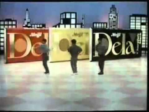 【懐かCM】明治 チョコレート デラ 少年隊(1985年) - YouTube