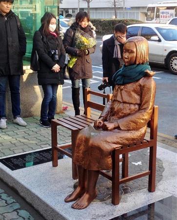 韓国民団が慰安婦像撤去求める 「在日同胞は息を殺して生活」 (産経新聞) - Yahoo!ニュース