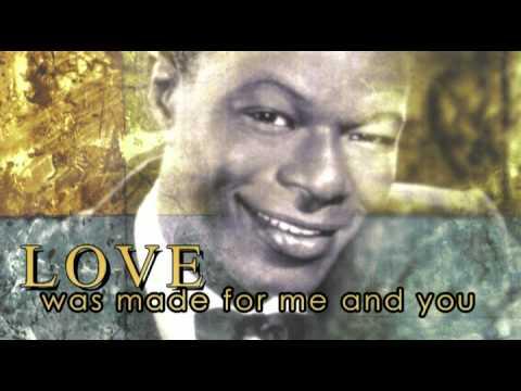 L-O-V-E  Nat King Cole (Lyrics) - YouTube