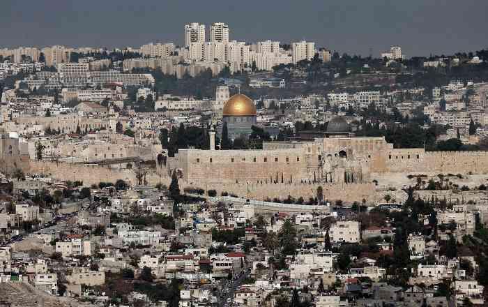 トランプ氏、エルサレムをイスラエル首都として確認