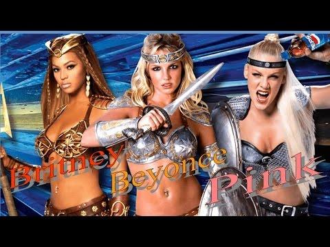 ペプシCM (ブライトニー&ビヨンセ&ピンク)夢の共演 歌詞・邦訳付 Pepsi CM(Britney&Beyonce&Pink) Lyrics - YouTube