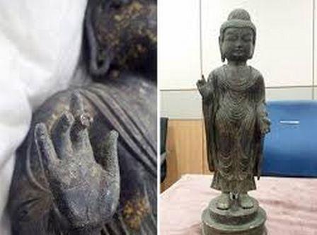 """【日韓関係崩壊】 韓国人「日本が文化庁が、""""韓国から返還された仏像の指先が破損している""""と発表」 : 世界の憂鬱"""