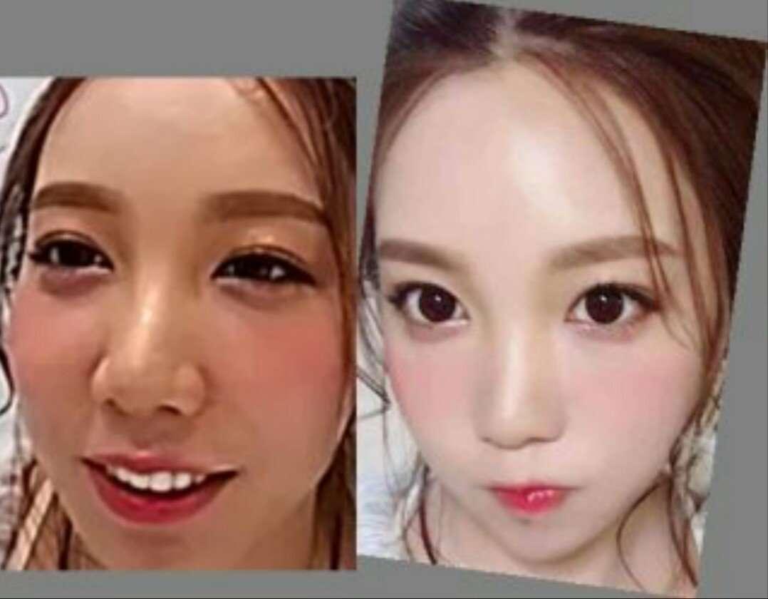 加工アプリが変えちゃいけない顔を変えてしまい美人の加工がバレる