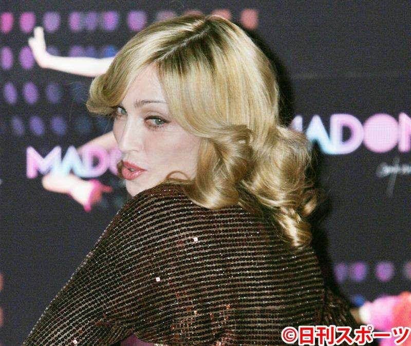 マドンナ、陰毛をナイキロゴに整え下腹部写真掲載 - ハリウッド : 日刊スポーツ