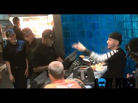 マクドナルドをラップで注文する外人がうますぎてウケるw - YouTube