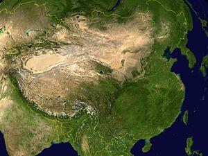 中国の砂漠化問題 - Wikipedia