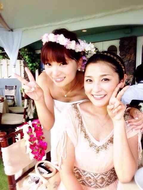 保田圭と石川梨華が披露宴で「ハッピーサマーウェディング」歌った!
