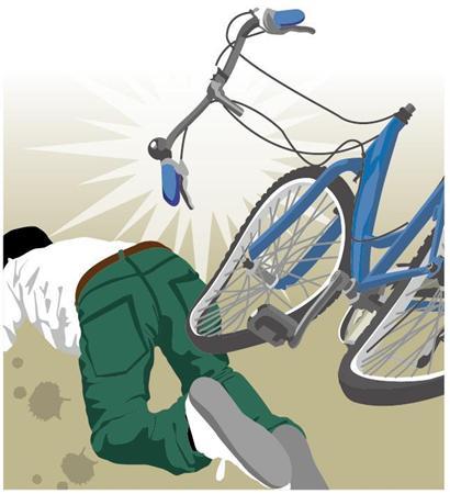 突然自転車が壊れる事例が続発 サッカー選手の夢を奪われた若者も - ライブドアニュース