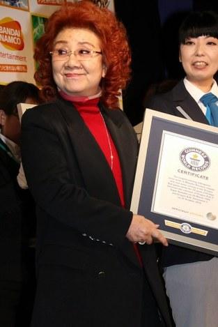 野沢雅子:「ドラゴンボール」でギネス認定 - 毎日新聞