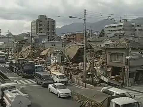 映像全記録 阪神大震災 神戸市東灘区 - YouTube