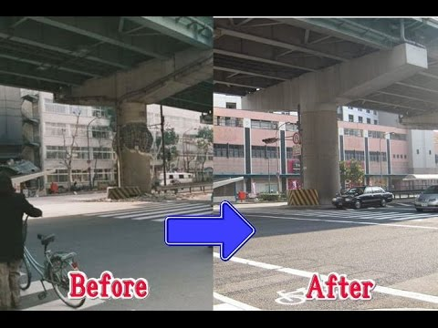 阪神淡路大震災 Before After - YouTube