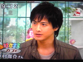 きょうのはなまるカフェ ゲストは中村俊介さん | 猫 de いっぱい - 楽天ブログ