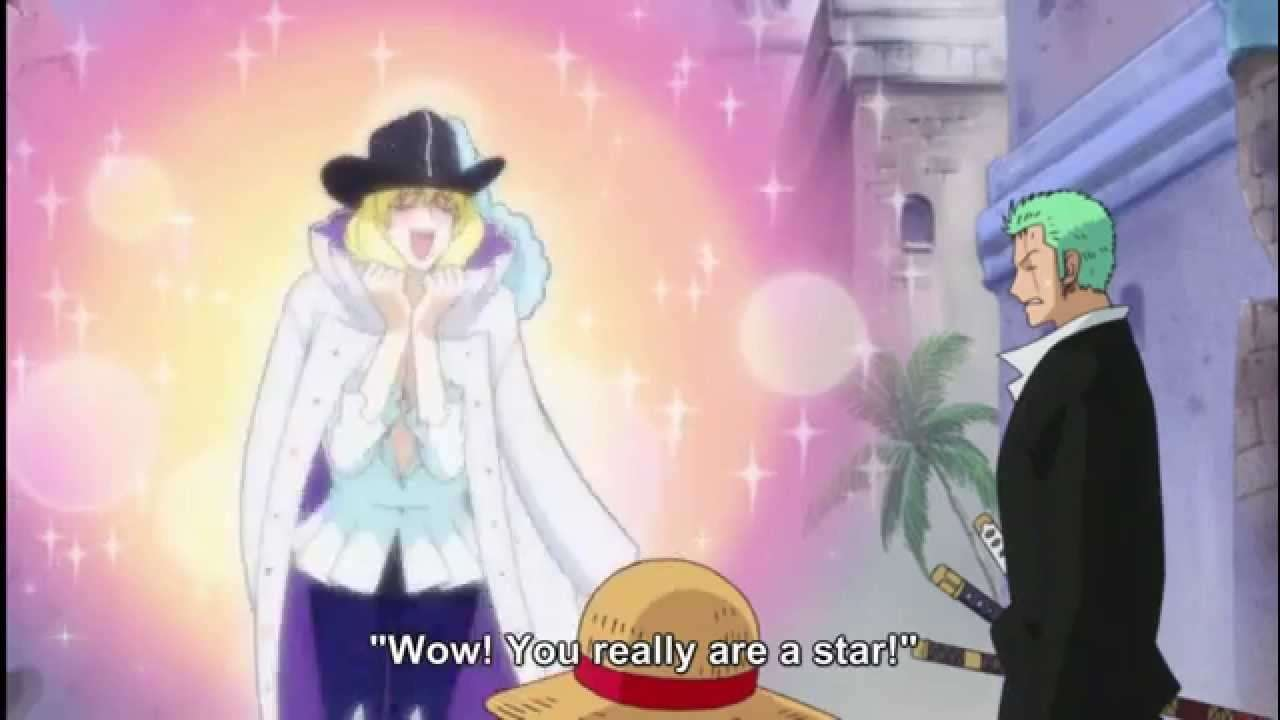 Cavendish Is A Super Star! One Piece Funny Moment - YouTube