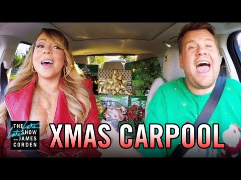 'All I Want for Christmas' Carpool Karaoke - YouTube