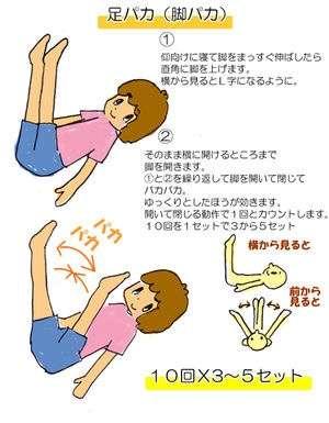 30日間足パカダイエットpart10