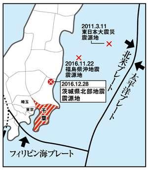茨城沖地震を的中した教授が警告!「次は千葉県沖か首都圏直下が発生する」 (週刊女性PRIME) - Yahoo!ニュース