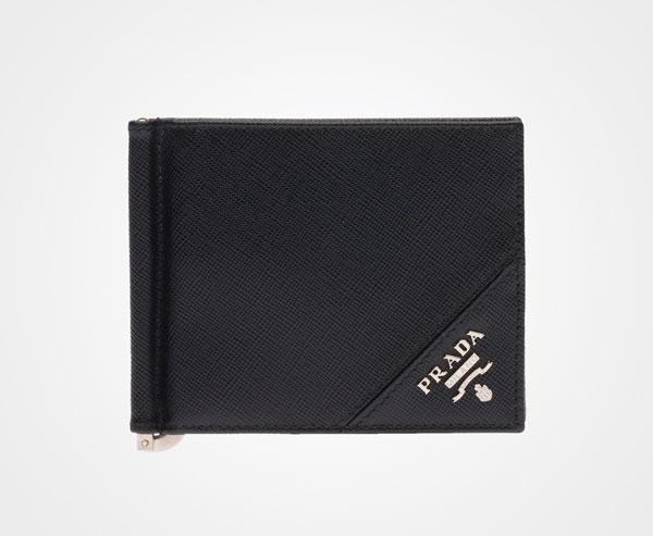 Prada メンズ - 財布 - ブラック - 2MN077_QME_F0002