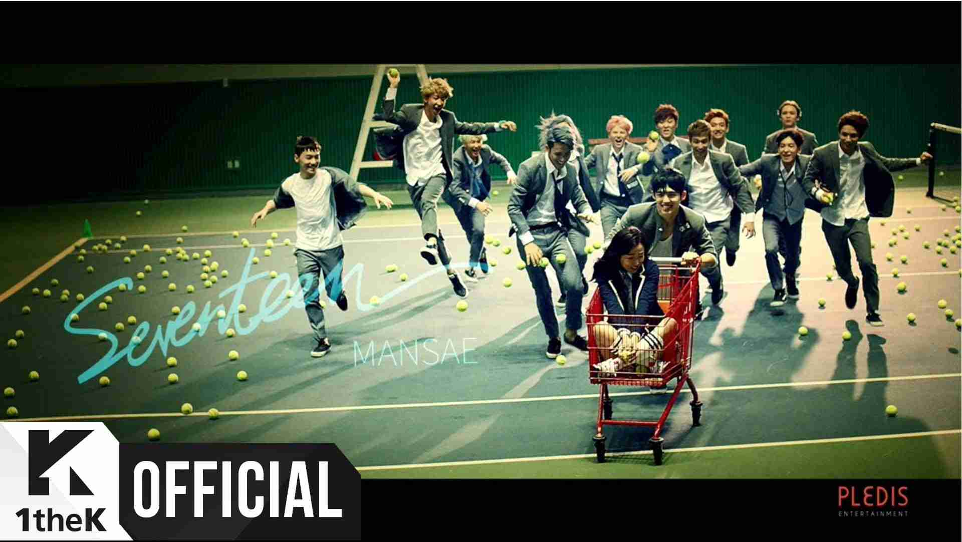 [MV] SEVENTEEN(세븐틴) _ Mansae(만세) - YouTube