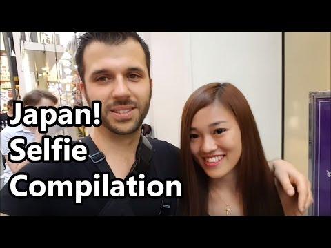 ナンパ Osaka! Selfie Compilation! - YouTube