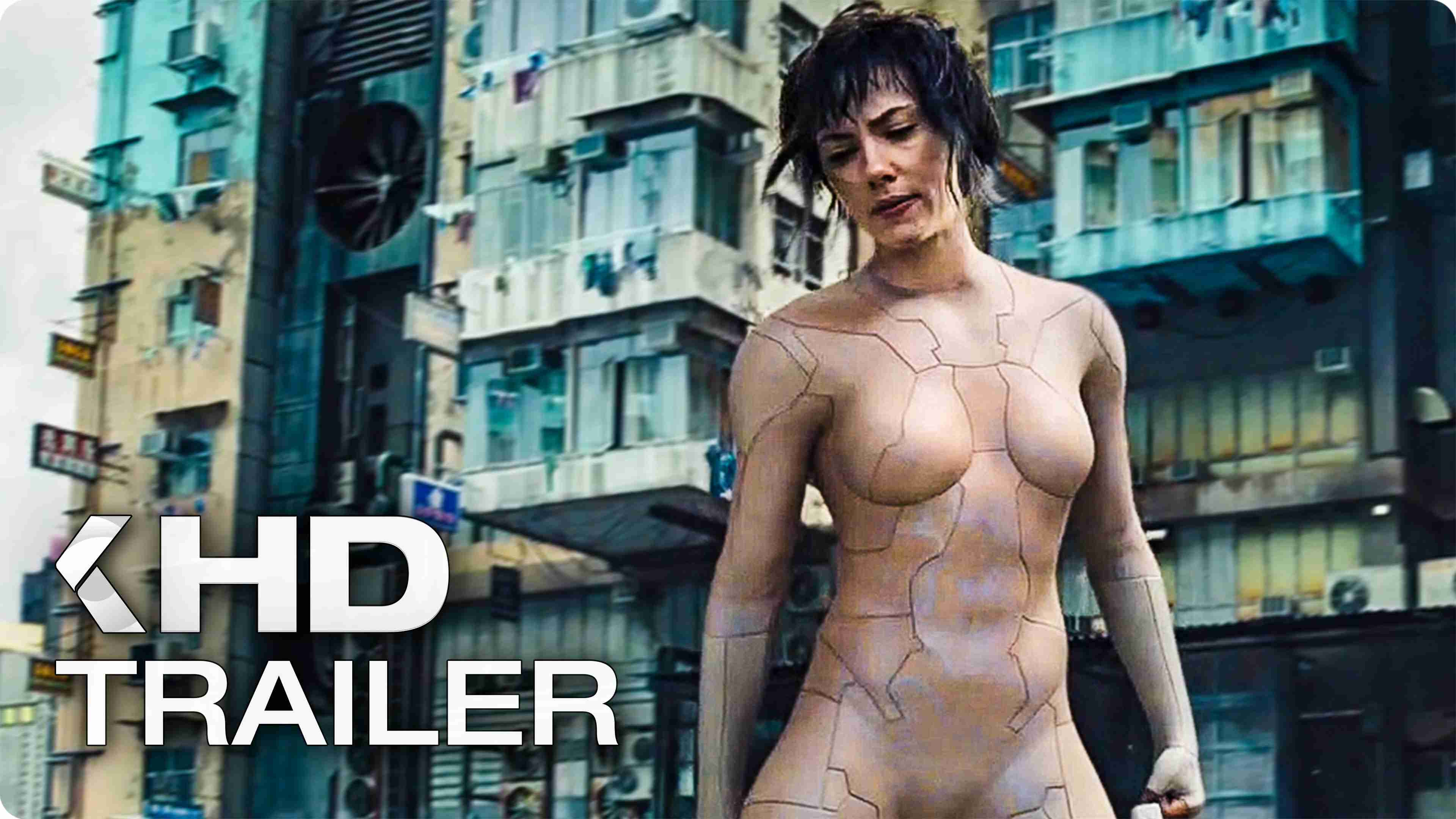 GHOST IN THE SHELL Trailer (2017) - YouTube