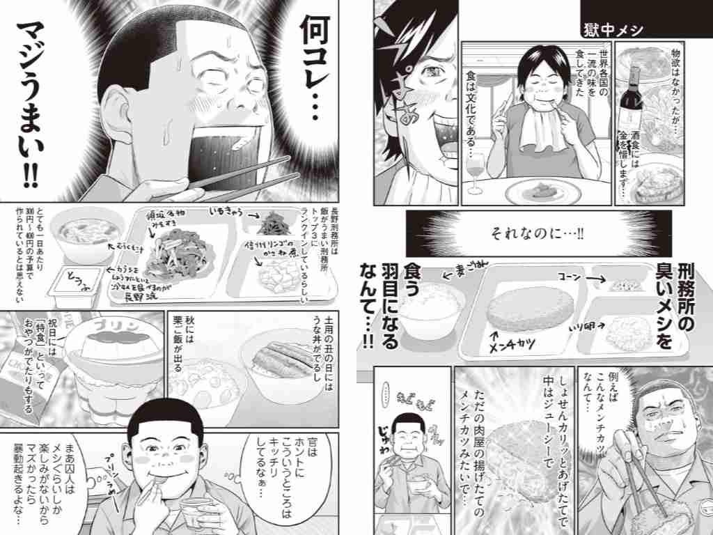 食事が刑務所以下な人〜