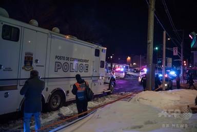 カナダ・ケベック市のモスクで発砲、少なくとも5人死亡 2人逮捕 写真3枚 国際ニュース:AFPBB News