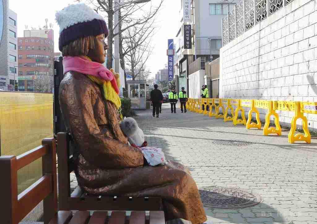 慰安婦像が韓国でキャラクタービジネスに? 慰安婦像一体を作ると製作者には340万円の収入   JBpress(日本ビジネスプレス)