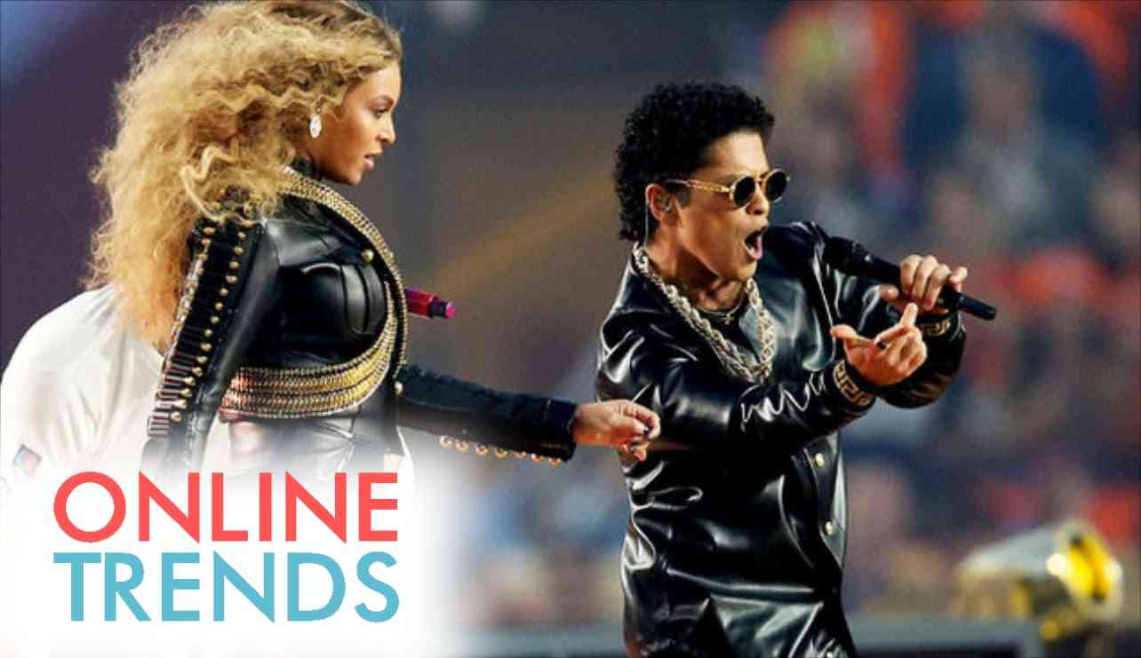 Super Bowl 50 Halftime Show - Bruno Mars & Beyonce ONLY [HD] 2016 - YouTube