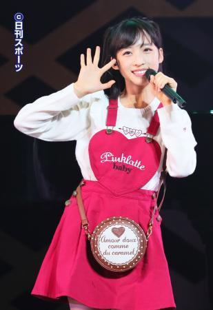 2万年に1人の美少女、AKB48小栗有以が感激の涙