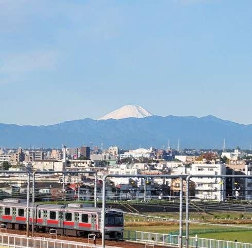 あなたの町から見える富士山