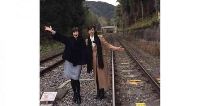 【酷すぎ】松本伊代が侵入した線路「観光名所化!」観光客殺到で線路に入り放題!と話題に