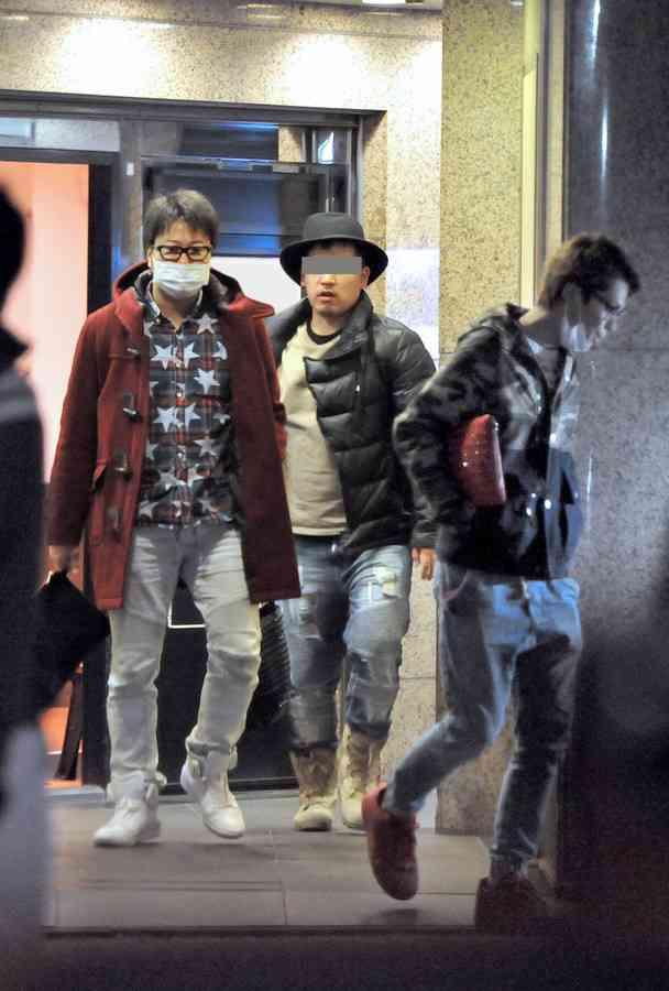 スクープ撮!清水良太郎と俳優・遠藤要「闇カジノで違法賭博疑惑」現場写真!