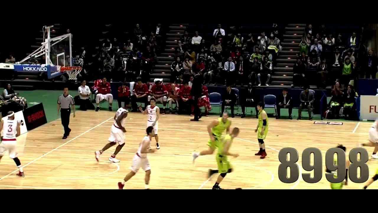 折茂武彦(Age:46)がキャリア通算9,000得点を達成 B.LEAGUE第10節GAME2 11.28.2016 プロバスケ (Bリーグ) - YouTube