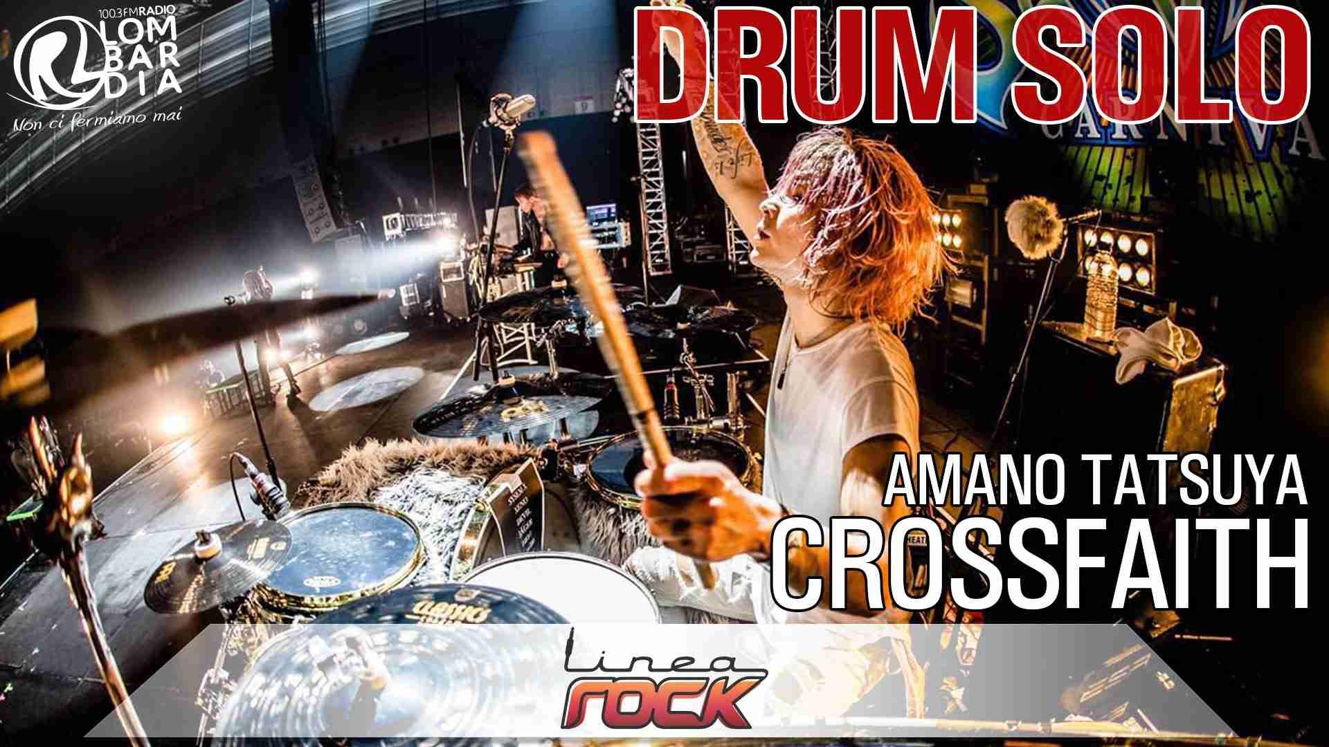CROSSFAITH - Amano Tatsuya - drum solo live @Officina degli Angeli Verona - YouTube
