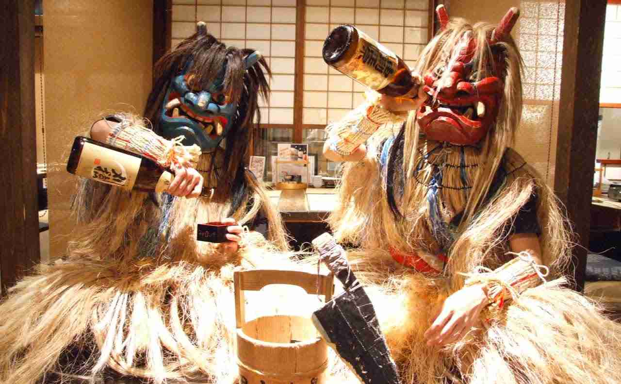 "Namahage Show なまはげショー / なまはげ銀座店 Famous local cuisines ""AKITA DINING NAMAHAGE Ginza"" #TadaimaJapan - YouTube"