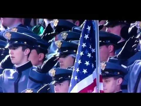 Patrick Wilson Sings National Anthem - YouTube